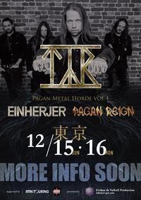 Pagan Metal Horde vol.4の開催が12月に東京で決定 - 帰ってきた、モンクアル?
