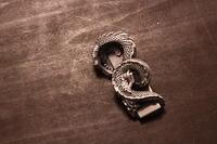 フルオーダートップ龍○○建設/製作過程④ - アクセサリー職人 モリタカツヤ MOHI silver works  Jewelry Factory KUROBE