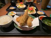 アジの梅肉はさみ揚げとたまねぎのフライ、野菜たっぷりイワシの南蛮漬け - Beach Side Living - Kamakura -
