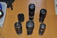 300,400,500mm 単焦点レンズの撮り比べ - nakajima akira's photobook