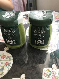 抹茶プリンを食べながら - 音作衛門道楽日記