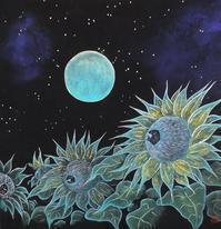 星空のむこう ( Over the starry sky ) - 栗原永輔ArtBlog.