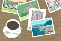 """【終了しました】個展ー""""小田原ときどき旅"""" - たなかきょおこ-旅する絵描きの絵日記/Kyoko Tanaka Illustrated Diary"""