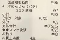 今日のお買い物(食費)とPayPayデビュー - ブツヨク日和-年収300万円で目指せ丁寧な暮らし