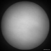 9月4日の太陽 - お手軽天体写真