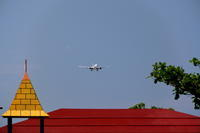屋根 - 南の島の飛行機日記