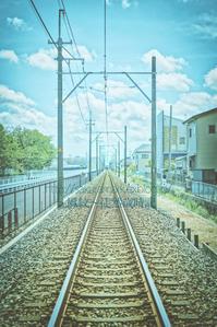 どこまでも続く線路と終わらない夏。 - ~風紋~徒然歳時記