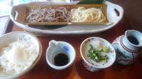 そば定食がおやつでパンが昼ごはん - おでかけメモランダム☆鹿児島