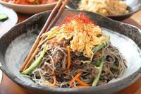 韓国春雨で「チャプチェ」 - 登志子のキッチン