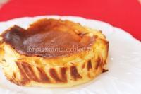バスク風チーズケーキ - おいしい便り