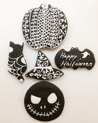 ハロウィンクッキー - 調布の小さな手作りお菓子教室 アトリエタルトタタン