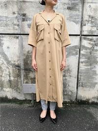 RE LEAN ロングシャツワンピース - suifu