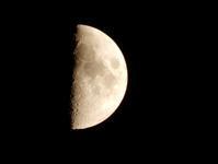 さっきの月 - ソラマメの窓