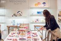 上海高島屋WEDGEWOODでティーセミナー - Yoko Maruyama Tablecreation
