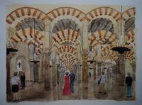 スペインの旅:コルドバ - オヤジの水彩画集