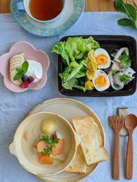 シチュー朝ごはん - 陶器通販・益子焼 雑貨手作り陶器のサイトショップ 木のねのブログ