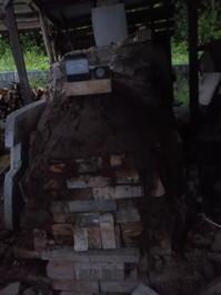 薪窯作り直す・窯を焼くこと(No.87) - 薪窯冬青犬器