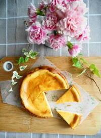 チーズケーキ - 小麦の時間   京都の自宅にてパン教室を主宰(JHBS認定教室)