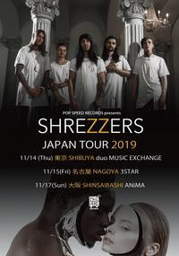 Shrezzersの来日公演が11月に東名阪で開催決定 - 帰ってきた、モンクアル?