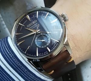 セイコーの大ヒット商品(SEIKOプレサージュSTARBAR限定モデル) - Rolex Street 6098 遊馬の機械式時計ブログ
