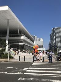 夏の東京に里帰り⑤〜新!横浜アンパンマンこどもミュージアム〜 - タワーブリッジの麓より