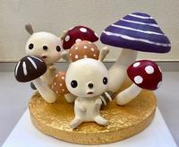 秋の人形ディスプレイ「きのこの森でかくれんぼ」 - 図工舎 zukosya blog