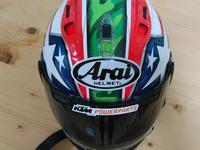 ヘルメットもKTM仕様 - 883R-GOGO!