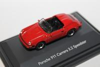 1/87 Schuco PORSCHE 911 Carrera 3.2 Speedster - 1/87 SCHUCO & 1/64 KYOSHO ミニカーコレクション byまさーる