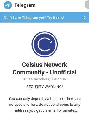 Celsius Network情報