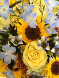 ビッグな花束2ケ - お花は幸せの贈りもの~Sweet Lees