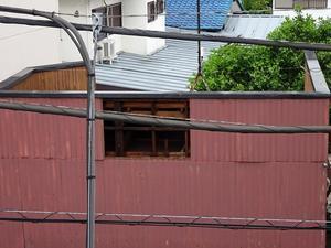 2019年9月台風被害 - 大工さんが木造住宅作ってるよ。