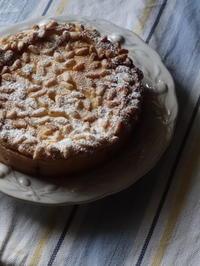 クリームチーズとサワークリームとレモンと松の実のタルト - Baking Daily@TM5