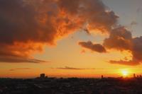 夕焼け雲 - 日々の風景