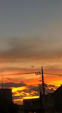 夕焼け - 埼玉でのんびり暮らす