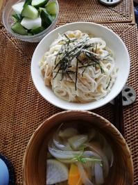 手作りなめ茸で大根おろしなめ茸ソーメン - 好食好日