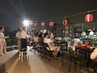 屋上で夢の花火大会鑑賞 - ー思いやりをカタチにー 株式会社羽島企画の社長ブログ
