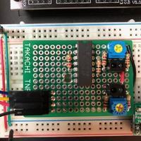 ライントレースのセンサー部テスト - ちょこっとした理科の小道具