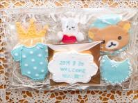 ベビーウェルカムクッキー - 調布の小さな手作りお菓子教室 アトリエタルトタタン