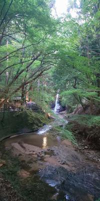東吉野村投石の滝ライトアップ天公園維鶴木工 - おでかけごはん