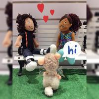 友達は何処にありますか? - TOT-view doll home童 言 童 語 Doll home