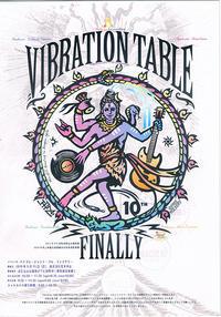 【イベント出店】明日(9/15)はバイブレーションテーブルです。 - キッチンカー蔵っCars'