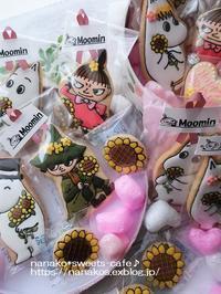 ムーミンアイシングクッキーのラッピング - nanako*sweets-cafe♪