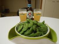 新潟の黒崎茶豆、茄子にビール、佐渡牛に奥野田レスプリ・ド・ヒヤケ。 - のび丸亭の「奥様ごはんですよ」日本ワインと日々の料理