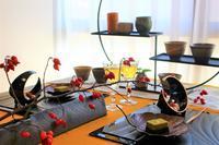 テーブルコーディネート☆10月レッスン「秋とほうじ茶と信楽焼き」のご案内 - 神戸・芦屋発 お茶とお菓子とテーブルコーディネート