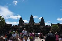 夏旅2019 悠久の歴史を巡るカンボジアの旅 その3 アンコールワットの大伽藍 - そら いろ  うみ いろ