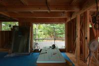 敷地環境を愉しむ五十嵐の家04 - 加藤淳一級建築士事務所の日記