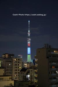 SEL2470GMテストで夜景撮り・スカイツリー♪ - Coshiのお気楽日常写真