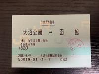北海道新幹線で函館・大沼公園3日目 - 沖縄発-週末リーマントラベラー ~俺流はこれだ~
