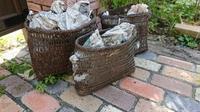 ボロ籠再生プロジェクト - 古布や麻の葉