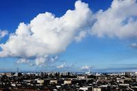 発達する積雲群 - 日々の風景
